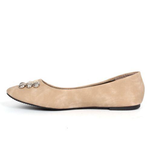 Damen Klassische Ballerinas - Khaki