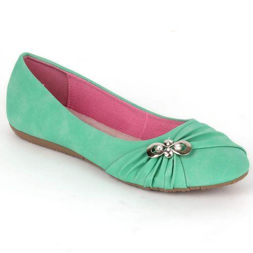 Damen Klassische Ballerinas - Hellgrün