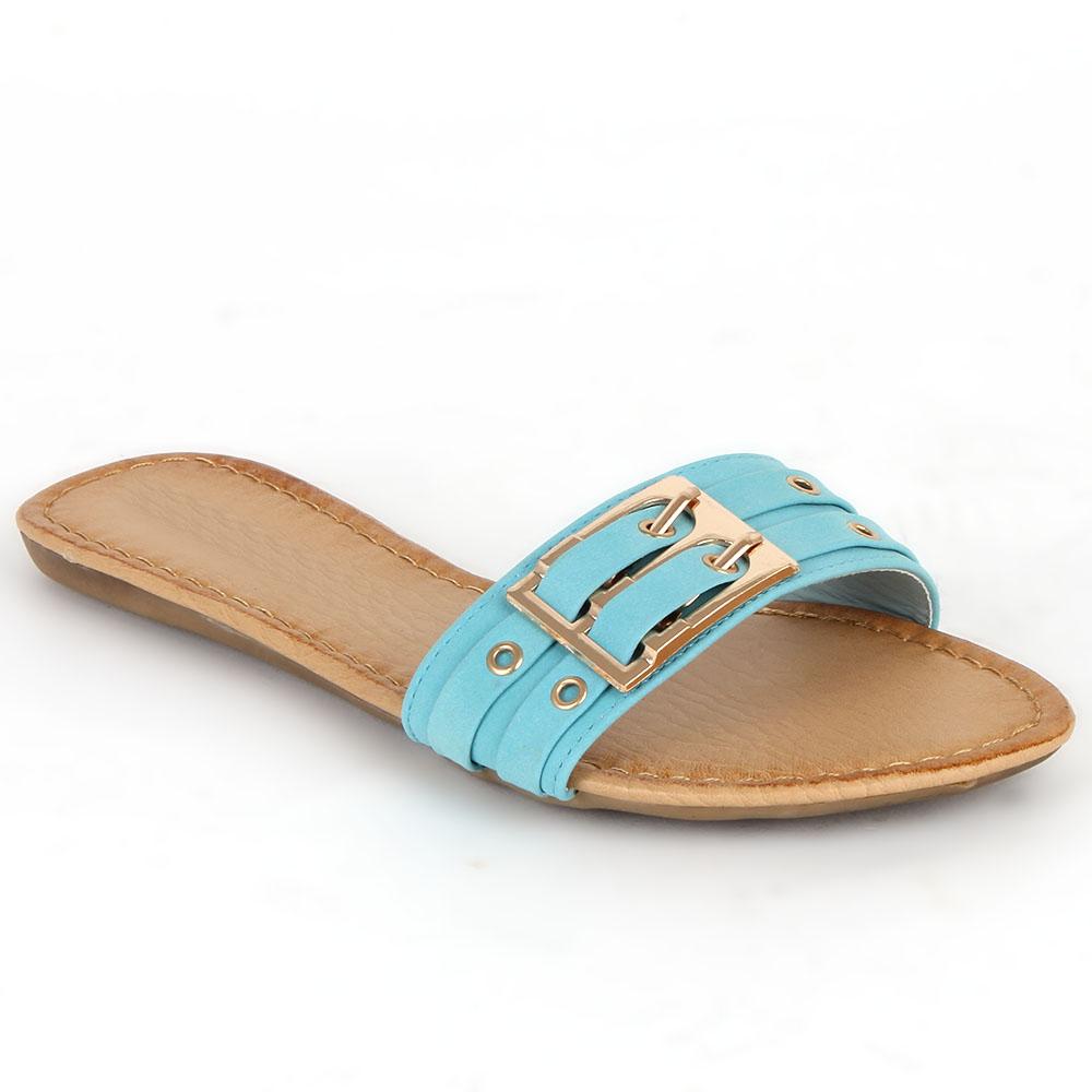 Damen Sandalen Komfort Sandalen - Hellblau