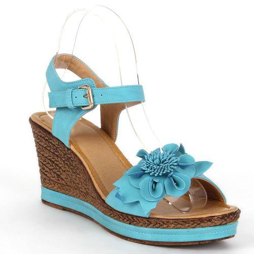Damen Sandaletten Keilsandaletten - Türkis