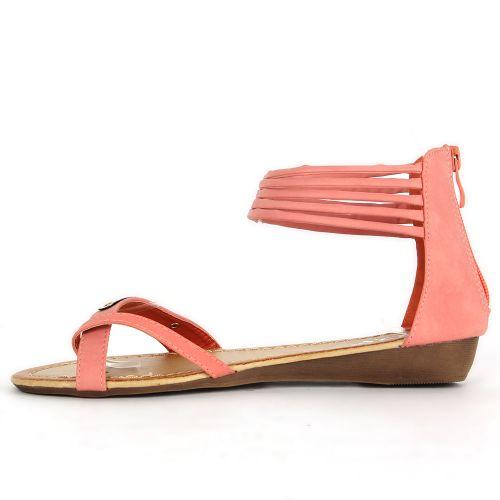 Damen Komfort Sandalen - Apricot