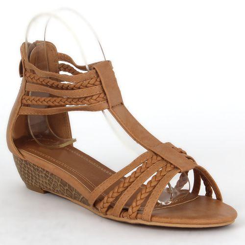 Damen Sandalen Komfort Sandalen - Hellbraun