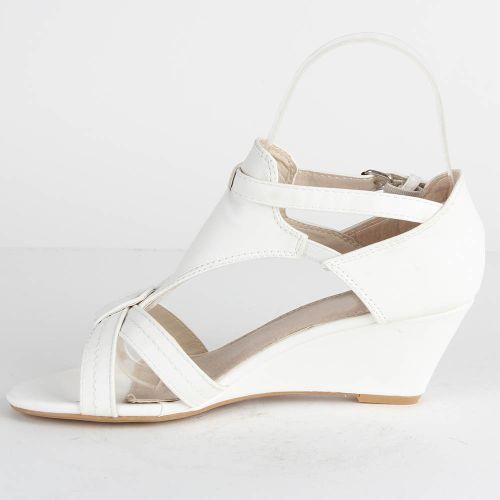 Damen Klassische Sandaletten - Weiß