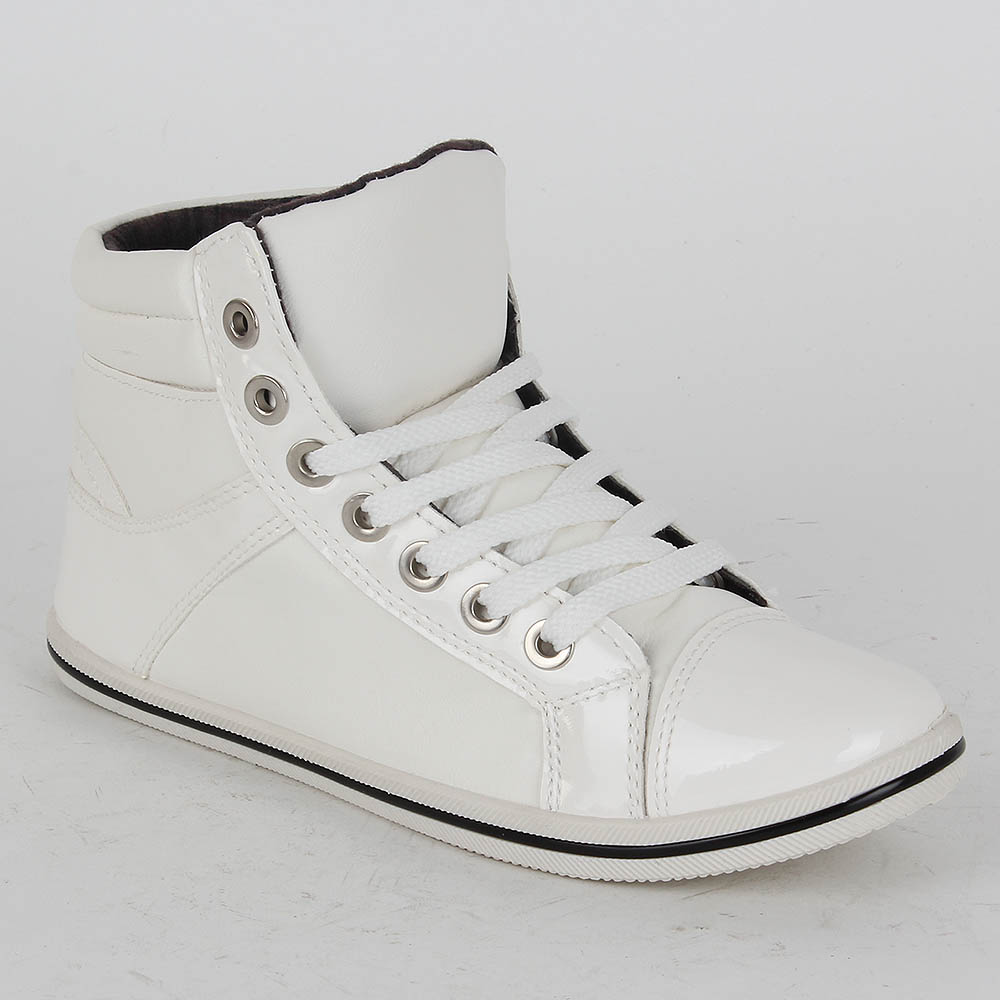 Damen Sneaker high - Weiß