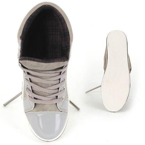 Damen Sneaker high - Hellgrau