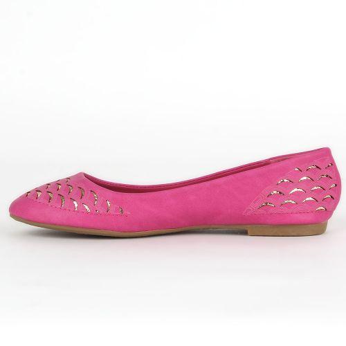 Damen Klassische Ballerinas - Fuchsia
