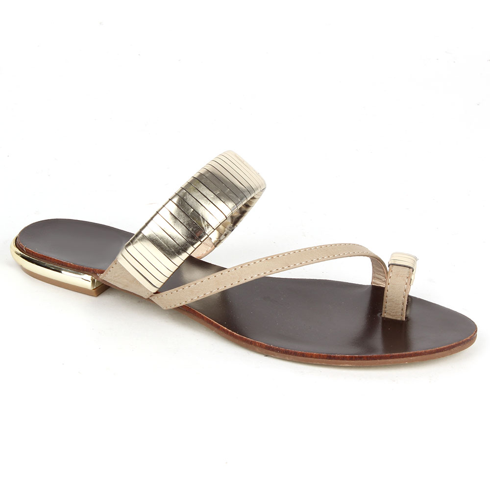 Damen Komfort Sandalen - Creme