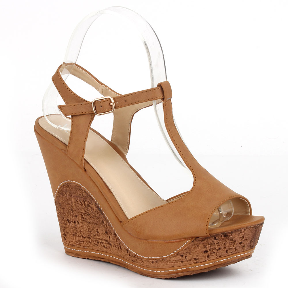 Damen Sandaletten Klassische Sandaletten - Hellbraun