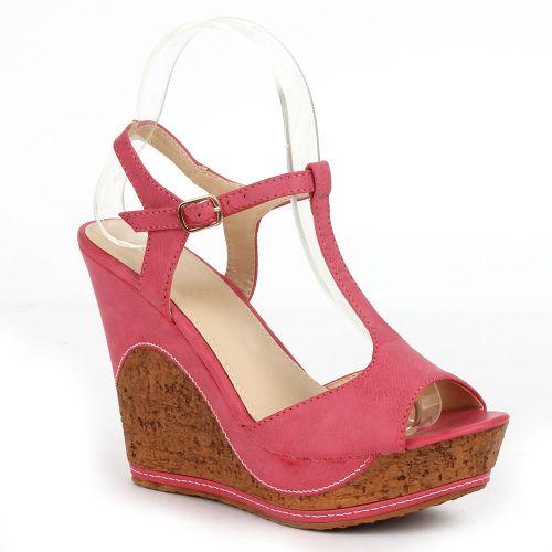 Damen Klassische Sandaletten - Fuchsia