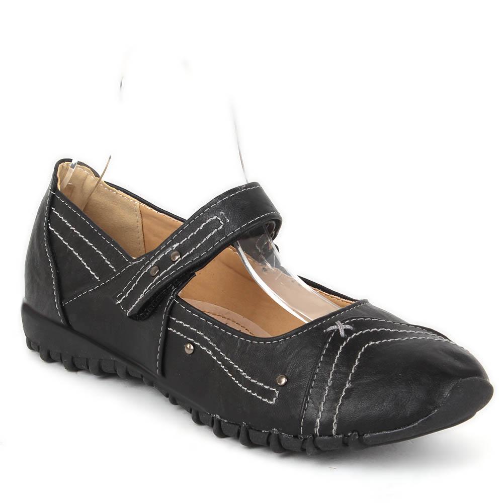 Damen Halbschuhe Outdoor Schuhe - Schwarz