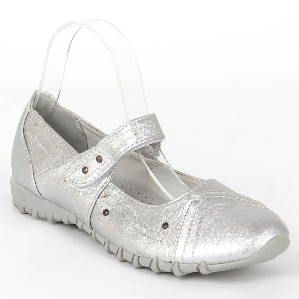 Damen Halbschuhe Outdoor Schuhe - Silber