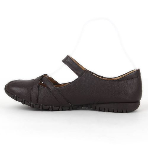 Damen Halbschuhe Outdoor Schuhe - Dunkelbraun