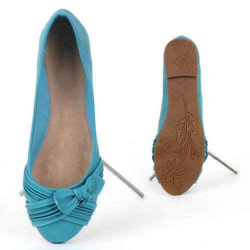 Damen Klassische Ballerinas - Türkis