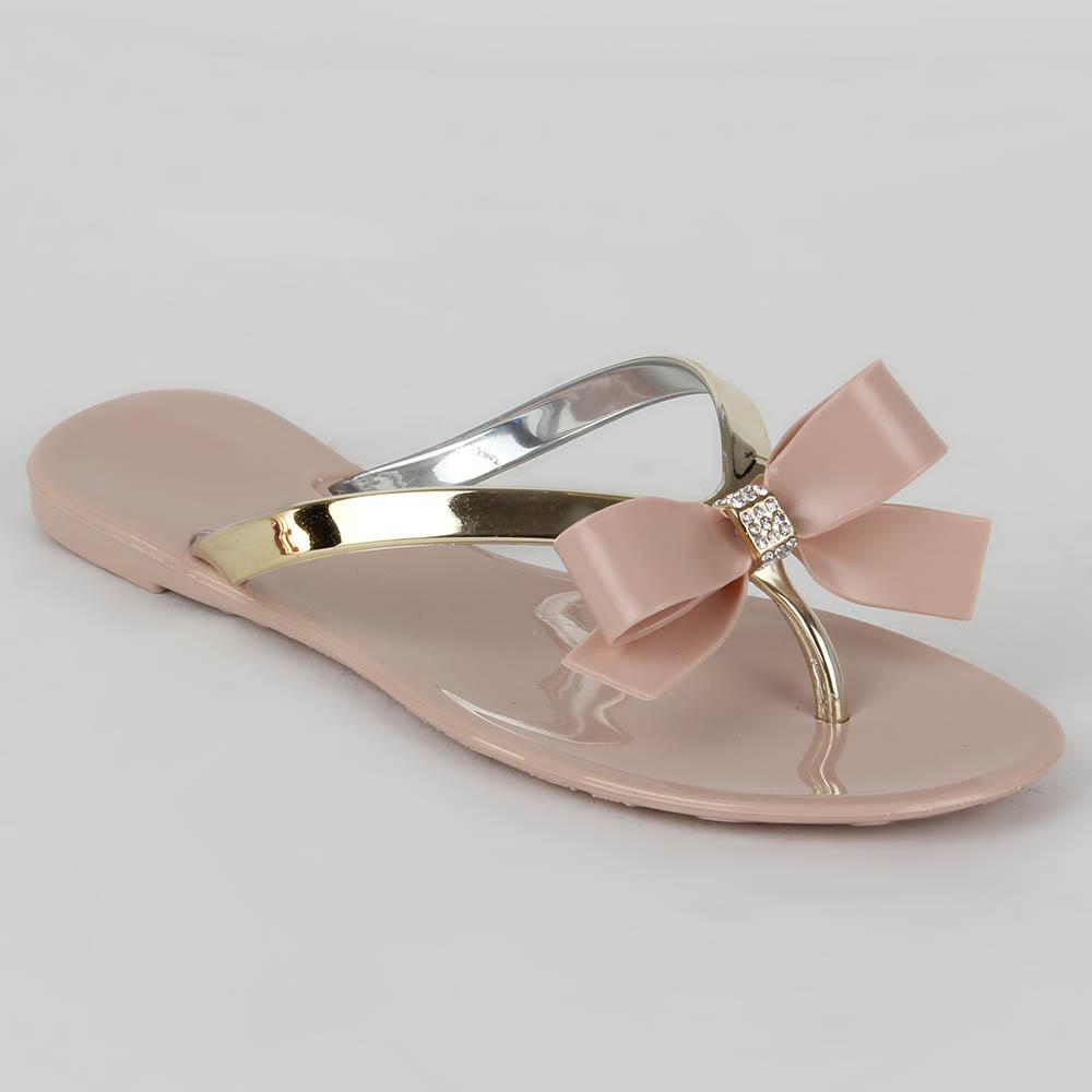Damen Komfort Sandalen - Rosa