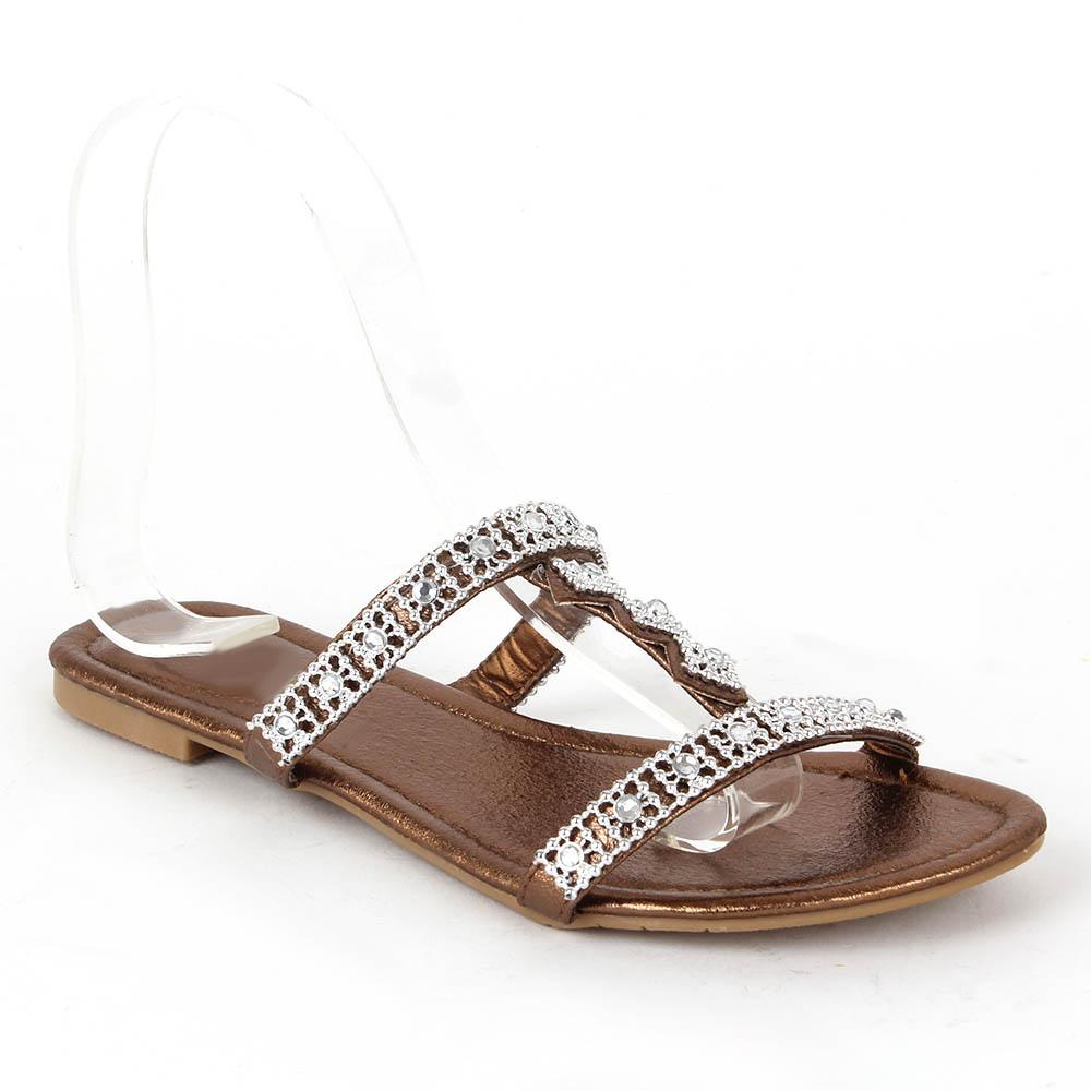 Damen Sandalen Komfort Sandalen - Bronze