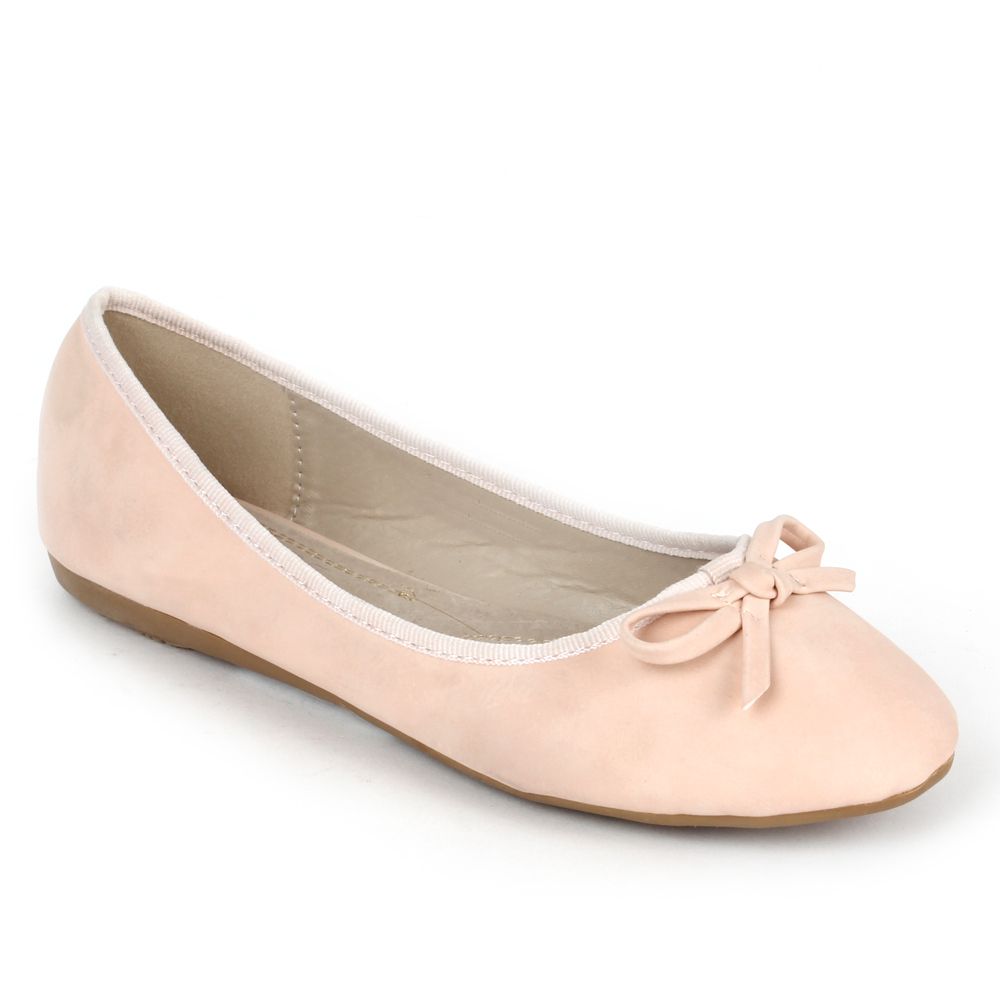 Damen Ballerinas - Rosa - New Holstein
