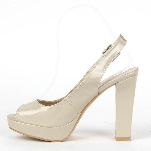 Damen Sandaletten Klassische Sandaletten - Creme