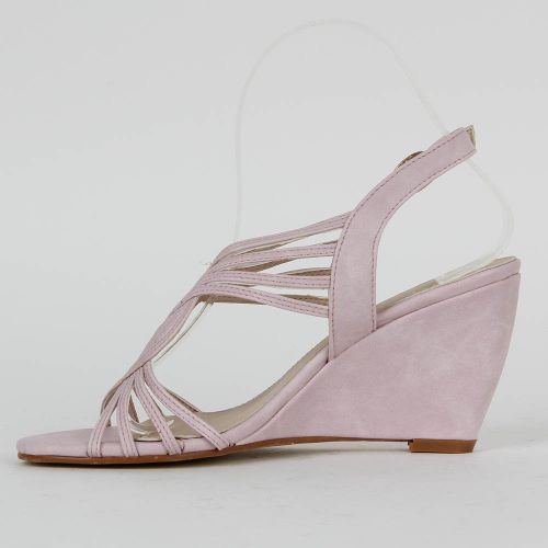Damen Sandaletten High Heels - Helllila