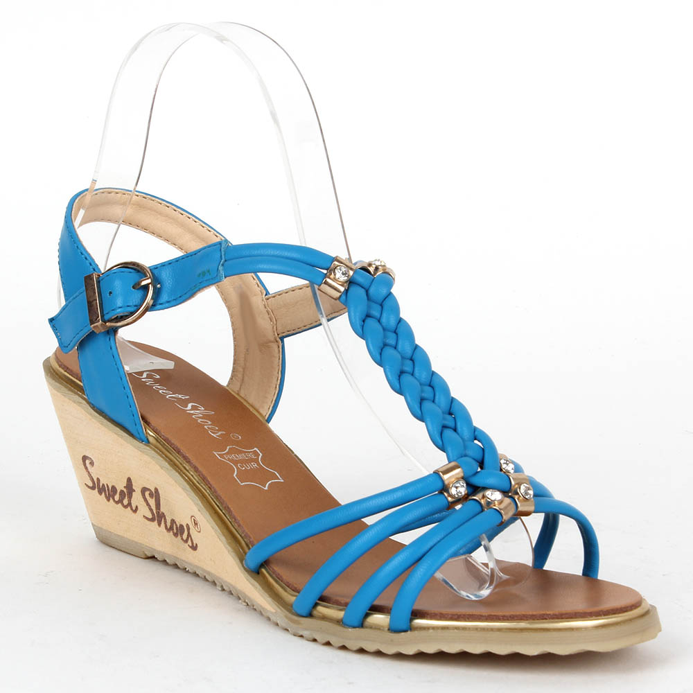 Damen Klassische Sandaletten - Blau