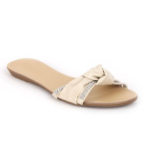 Damen Komfort Sandalen - Beige