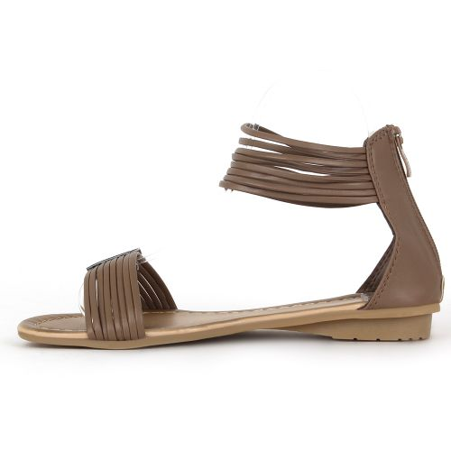 Damen Sandalen Komfort Sandalen - Taupe