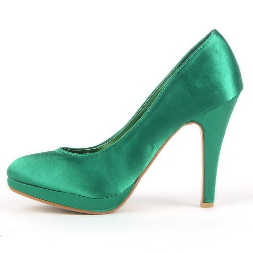 Damen Pumps High Heels - Grün