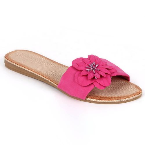 Damen Sandalen Komfort Sandalen - Fuchsia