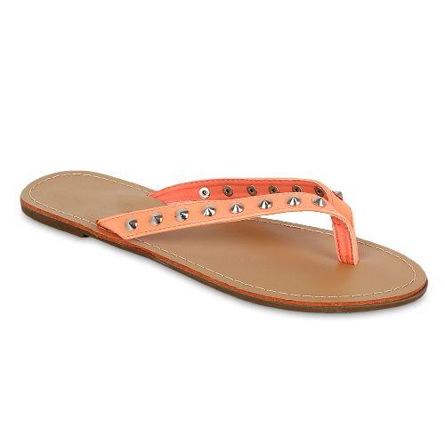 Damen Komfort Sandalen - Coral
