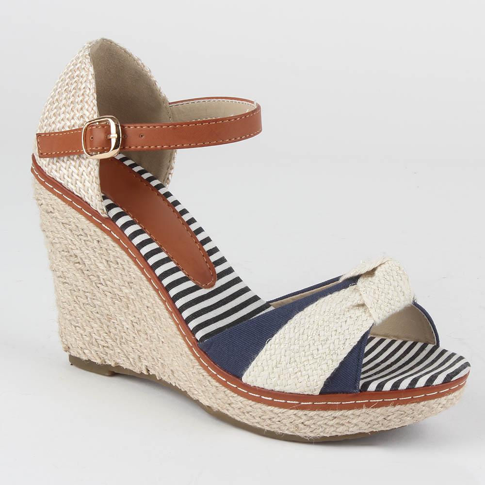 Damen Klassische Sandaletten - Dunkelblau