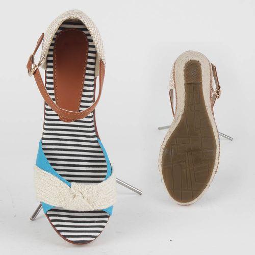 Damen Sandaletten Klassische Sandaletten - Hellblau
