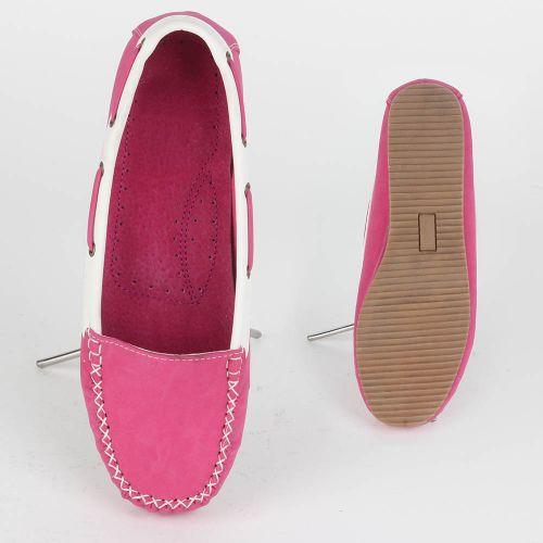 Damen Halbschuhe Mokassins - Pink