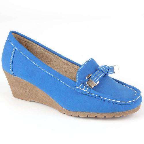 Damen Pumps Mokassins - Blau