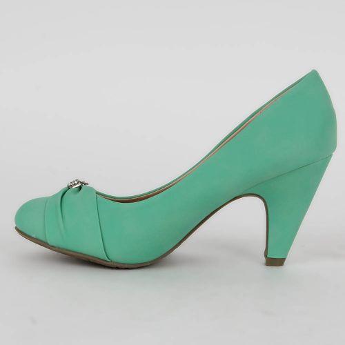 Damen Pumps Klassische Pumps - Hellgrün