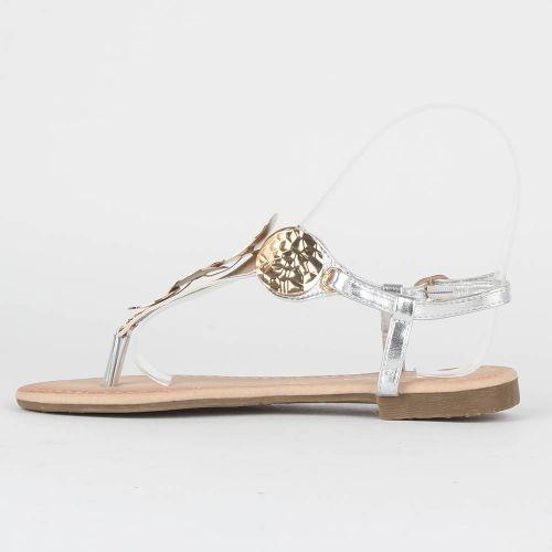 Damen Sandalen Komfort Sandalen - Silber