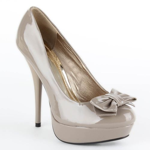 Damen Pumps High Heels - Stone
