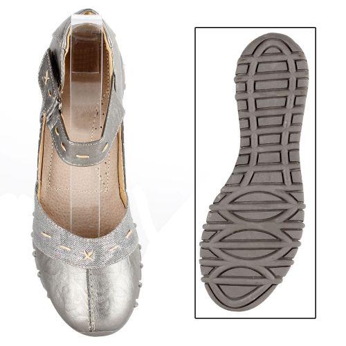 Damen Halbschuhe Outdoor Schuhe - Grau
