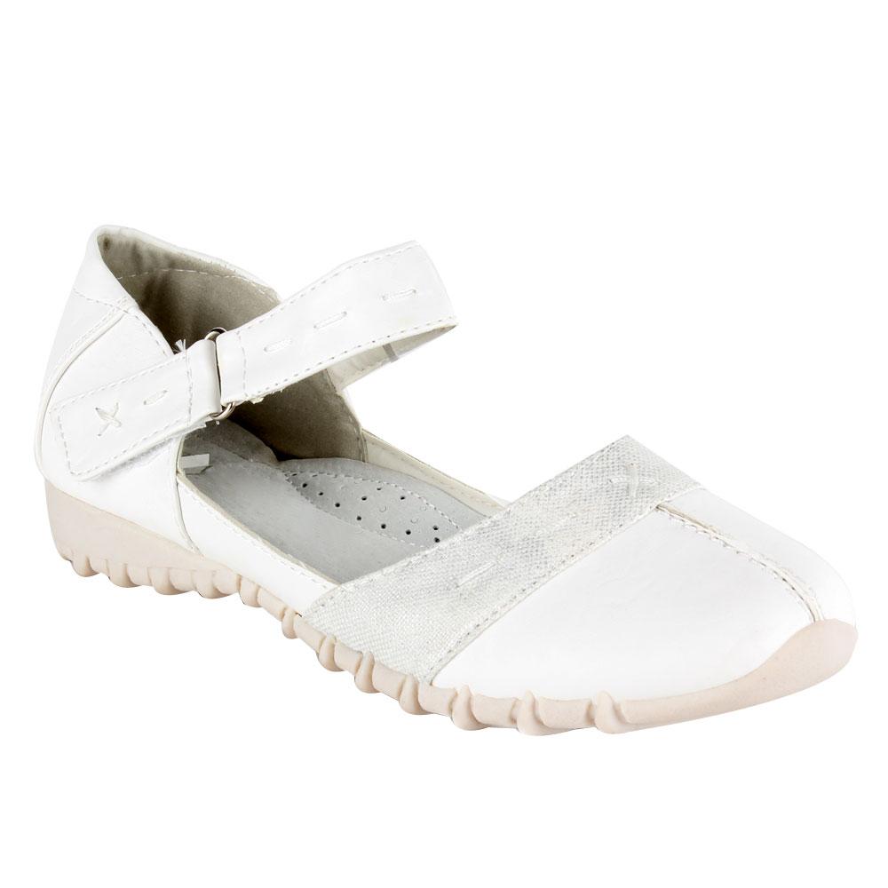 Damen Halbschuhe Outdoor Schuhe - Weiß