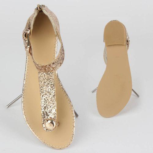 Damen Sandalen Komfort Sandalen - Gold