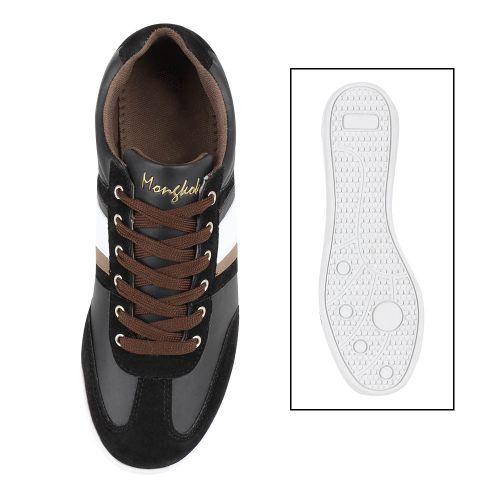 Herren Sneaker low - Schwarz Braun
