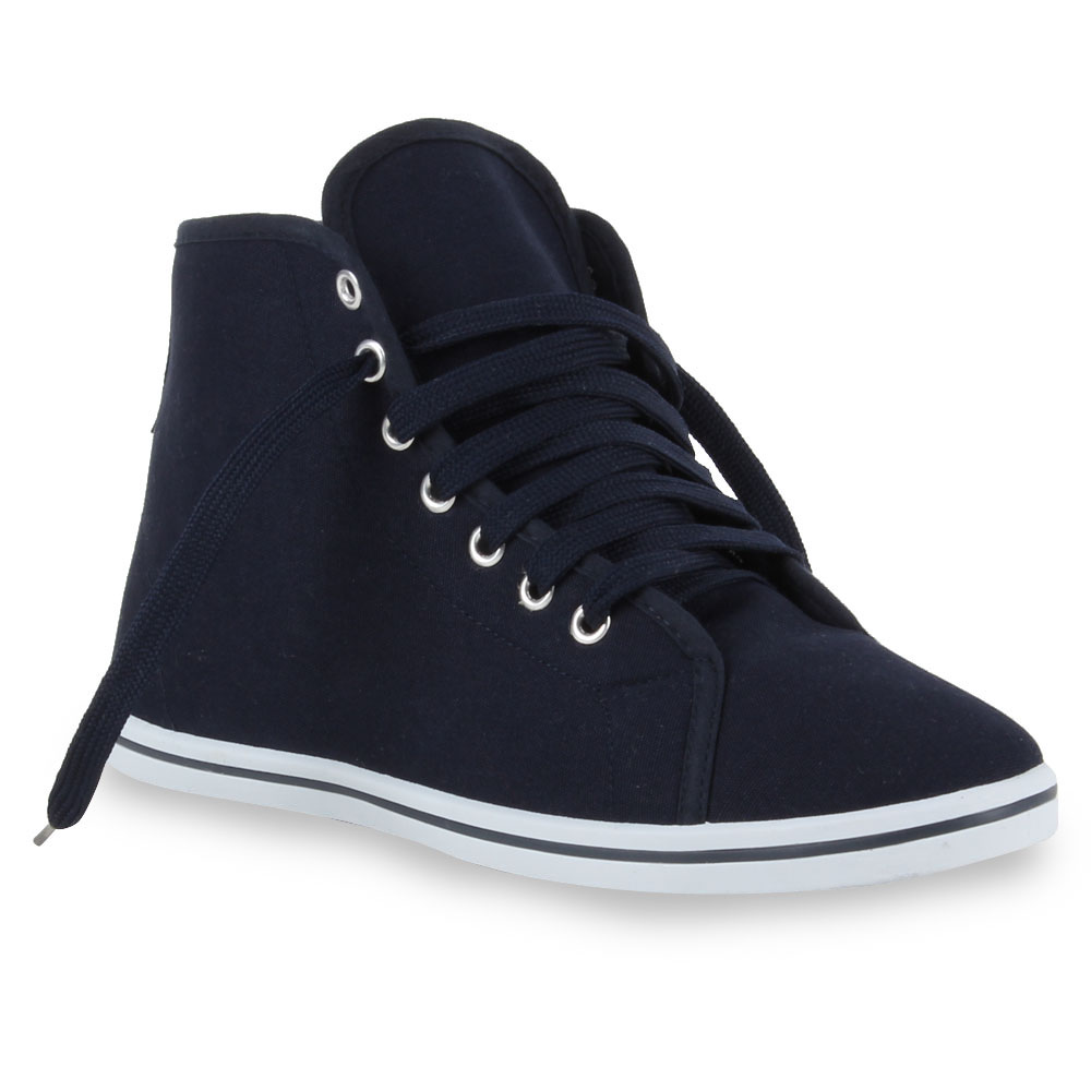 Herren Sneaker high - Dunkelblau
