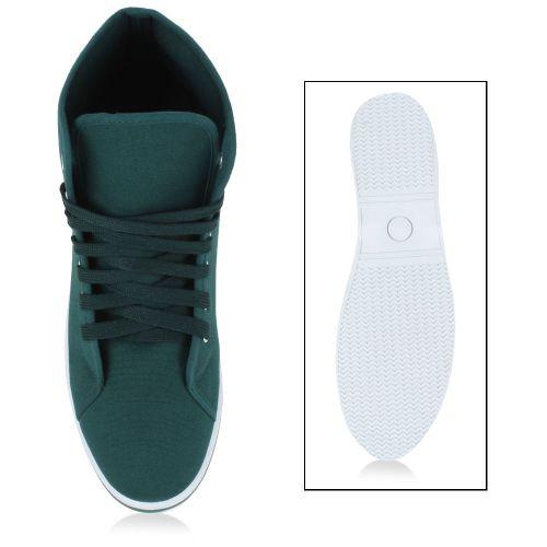 Herren Sneaker high - Dunkelgrün