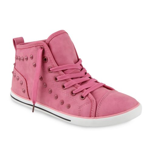 Damen Sneaker high - Hellpink