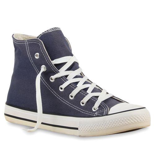 Herren Sneaker Sneaker high - Dunkelblau