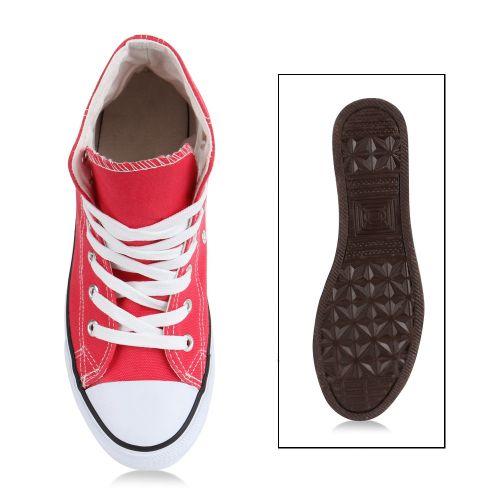 Damen Sneaker high - Coral