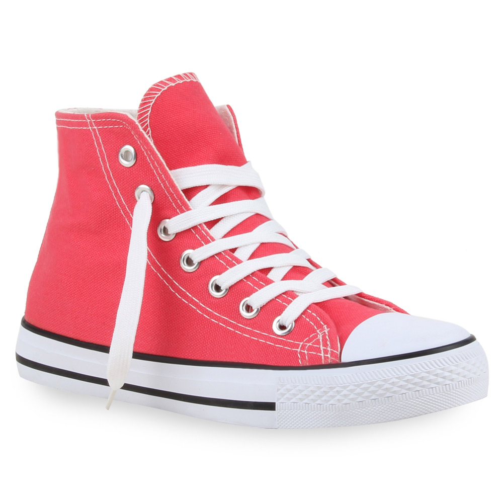 Damen Sneaker high - Coral