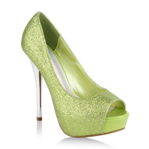Damen Heels High Hellgrün Damen Heels Hellgrün High Pumps Pumps Pumps High Damen Heels XOkZTPiu