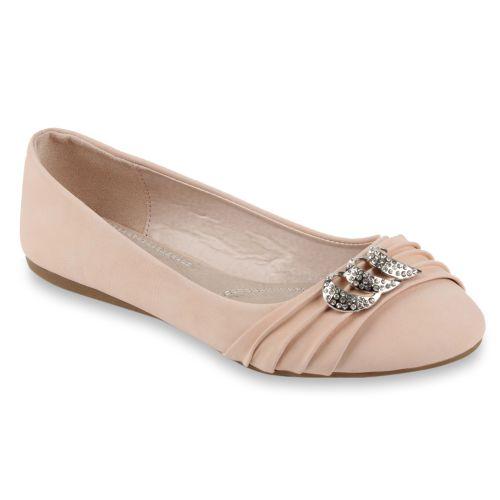 Damen Ballerinas - Rosa - Armoy