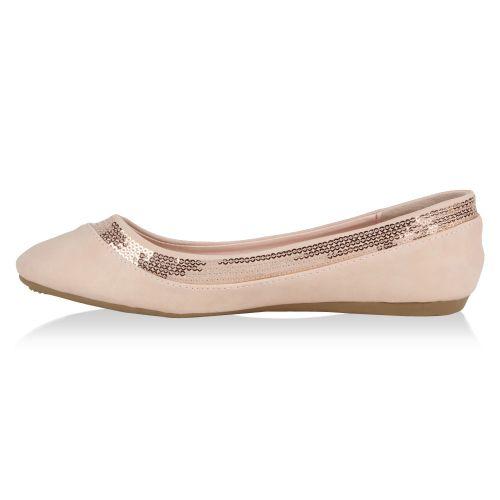 Damen Ballerinas - Rosa - Eastside