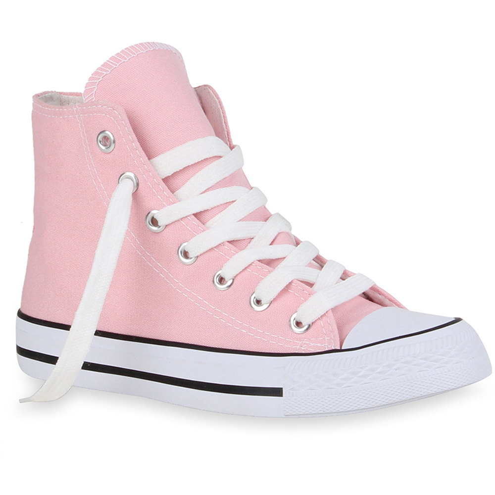 Damen Sneaker high - Rosa