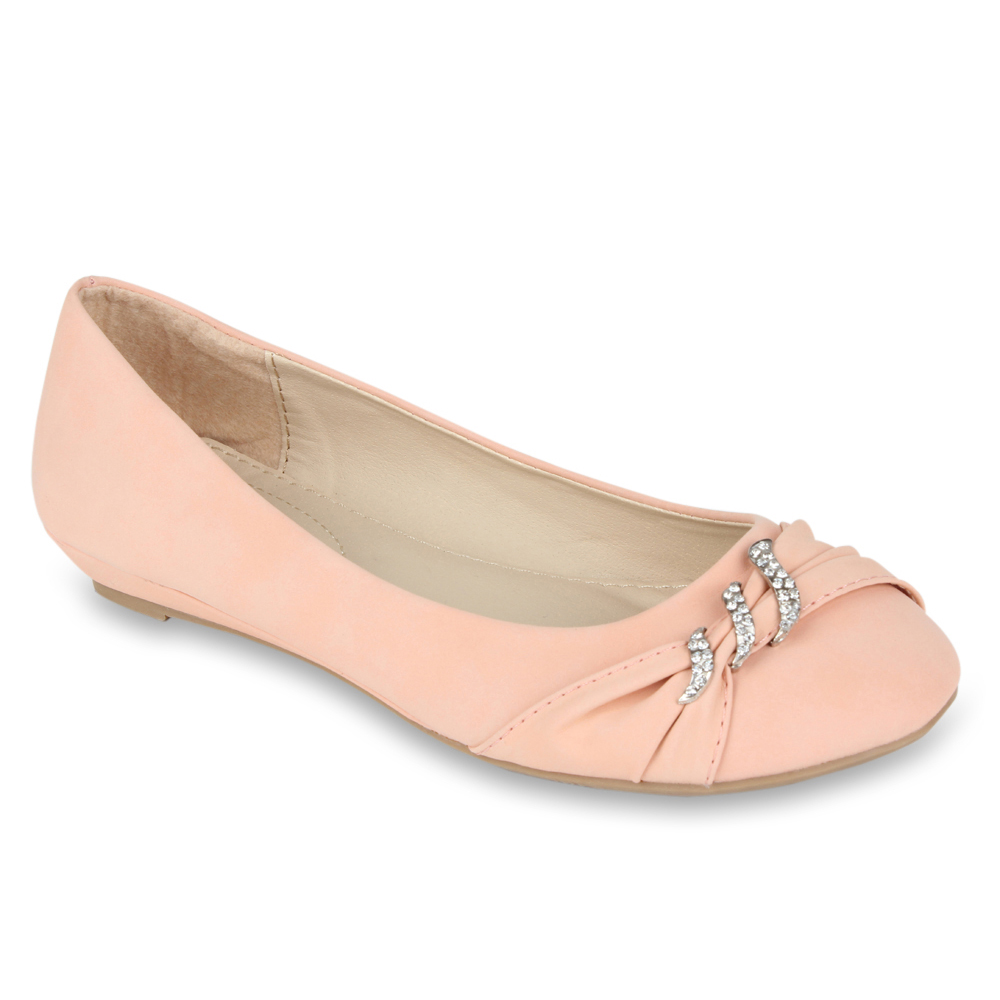 Damen Ballerinas - Rosa - Calanda